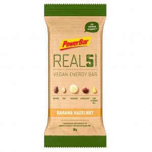 Powerbar Real5 Vegan Energy Bar Banana Hazelnut