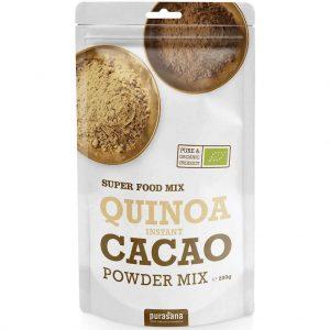 Purasana Quinoa Instant Cacao Powder Mix