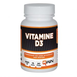 Qwin Vitamine D3 Tabletten
