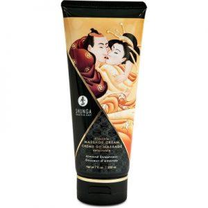 Shunga Eetbare Massagecrme - Amandel