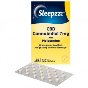 Sleepzz CBD Cannabidiol 7mg en Melatomine