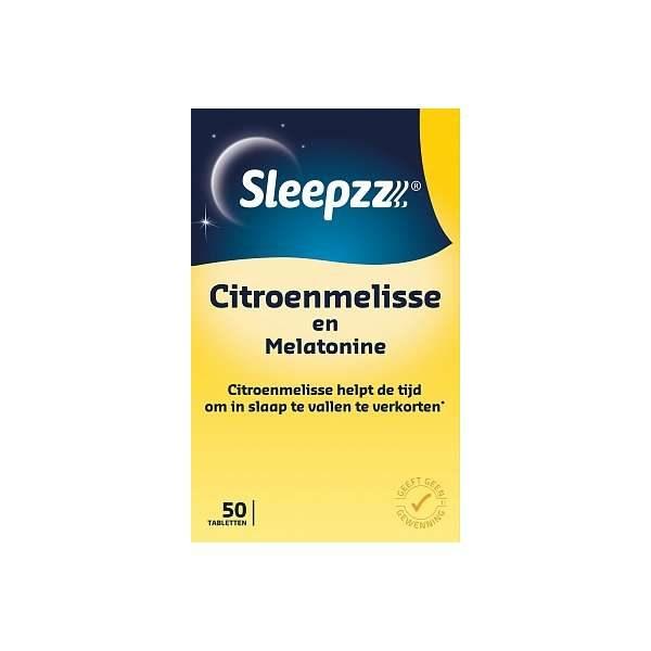 Sleepzz Melatonine 029 Mg Citroenmelisse