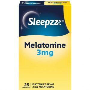 Sleepzz Melatonine 3mg Tabletten