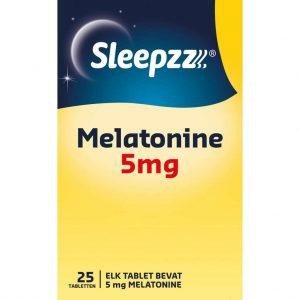 Sleepzz Melatonine 5mg Tabletten