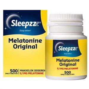 Sleepzz Melatonine Original Smelttabletjes
