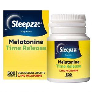 Sleepzz Melatonine Time Release Smelttabletjes