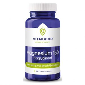 Vitakruid Magnesium 150 Bisglycinaat Vega Capsules