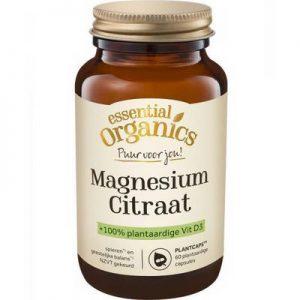 Essential Organ Magnesium citraat puur 60vc
