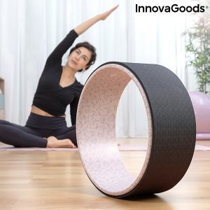 InnovaGoods Rodha Yoga Wiel - Ø33 x 13 cm