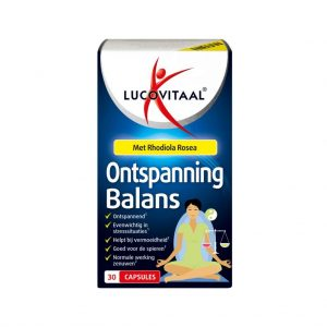 Lucovitaal Ontspanning Balans - 30 capsules