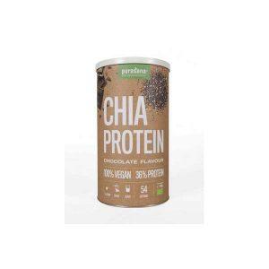 Purasana Chia proteine chocolade vegan 400g