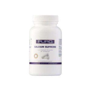 Puro food supplements calcium supreme 90 caps