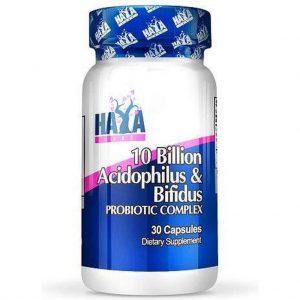 10 Billion Acidophilus & Bifidus Probiotic Complex 30caps