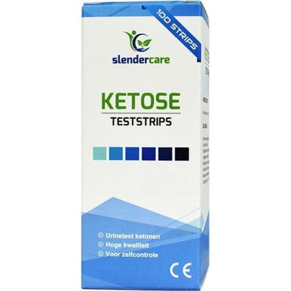 100 Ketose test strips voor urine