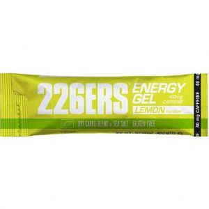 226ERS Bio Energy Gel Lemon - 40mg. Caffeine