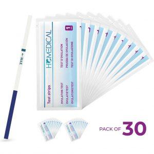 30 stuks - Ovulatietesten - Dipstick Vroeg - Homedical