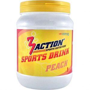 3action Sportdrank Peach 500 Gram