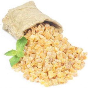 Abrikozen stukjes - Zak 500 gram