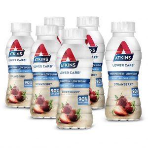Atkins Advantage Ready To Drink Drinkmaaltijd - 330ml - Strawberry - 5+1 gratis