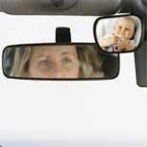 Baby view spiegel voor in auto