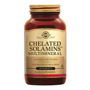 Chelated Solamins Multimineral