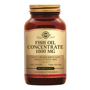 Fish Oil Concentrate 1000 mg (visolie)
