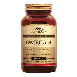 Omega-3 Double Strength (visolie, voorheen Omega-3 700 mg)