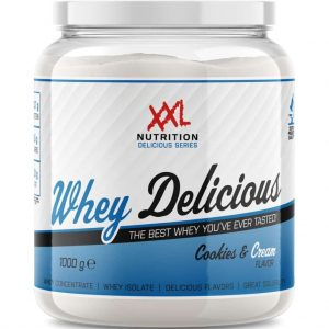 XXL Nutrition Whey Delicious - Proteïne Poeder / Proteïne Shake - Cookies and Cream 2500 gram