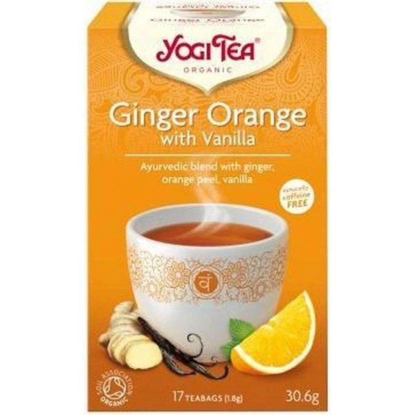 YogiTea Biologische Ginger Orange with Vanilla