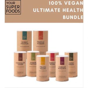Your Super - ULTIMATE HEALTH BUNDLE - 8x Plantaardig eiwitpoeder & Superfoodmix - Boost gezondheid