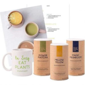 Your Super - VEGAN LATTE BUNDLE - Meer energie, minder stress en beter slapen