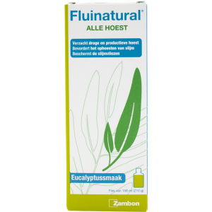 Fluinatural Alle Hoest Siroop - Eucalyptus