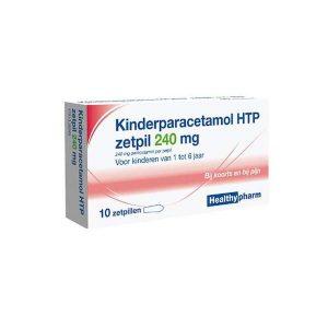 Healthypharm Kinderparacetamol HTP Zetpil 240mg