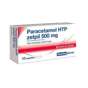 Healthypharm Paracetamol HTP Zetpil 500mg