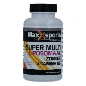MaxXsports Super Multi Liposomaal zonder Vitamine B6 Capsules