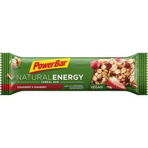 Powerbar Natural Energy Cereal Bar Strawberry en Cranberry
