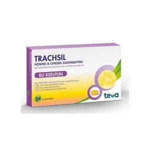 Trachsil Honing & Citroen Zuigtabletten