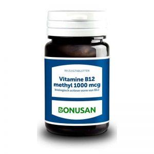 Bonusan B12 Methyl 1000mcg Zuigabletten