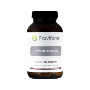Proviform L-Lysine 1200mg Tabletten
