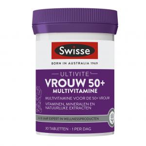 Swisse Vrouw 50+ Multivitamine Tabletten