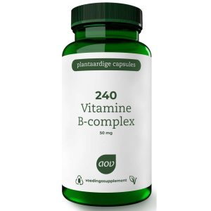 AOV 240 Vitamine B-complex 50mg Vegacaps