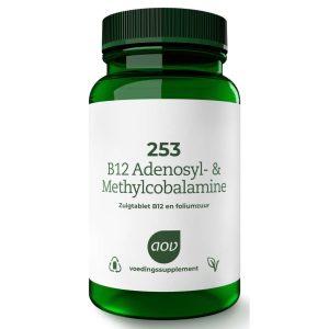 AOV 253 B12 Adenosyl & Methylcobalamine Tabletten