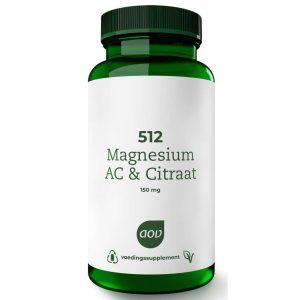 AOV 512 Magnesium AC & Citraat Tabletten