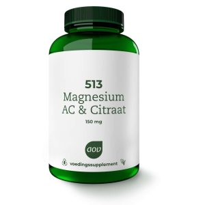 AOV 513 Magnesium AC & Citraat 150mg