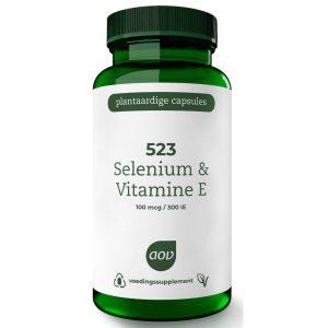 AOV 523 Selenium & Vitamine E Vegacaps