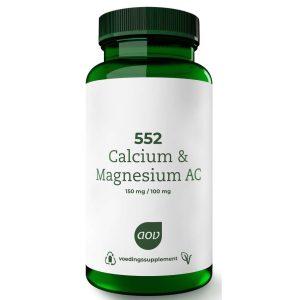 AOV 552 Calcium & Magnesium AC Tabletten