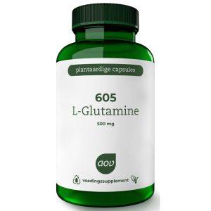 AOV 605 L Glutamine 500mg Vegacaps