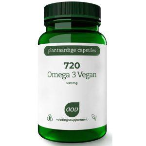 AOV 720 Omega 3 Vegan Softgels