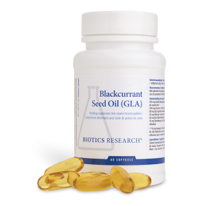 Biotics Blackcurrant Seed Oil (GLA) Softgels