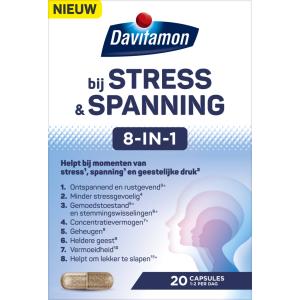 Davitamon Stress & Spanning 8-in-1 Capsules